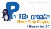Never Stop Praying Magnet