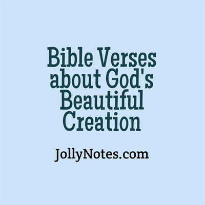Bible verses about creation creation of man god s for Teach a man to fish bible verse