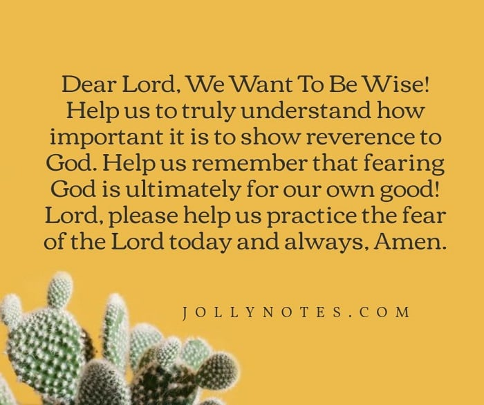 Dear Lord, We Want To Be Wise.