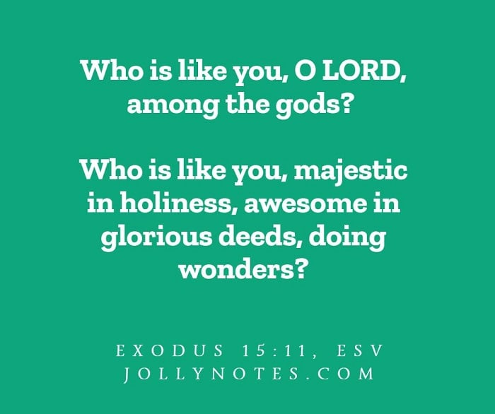 Who Is Like You, O Lord?