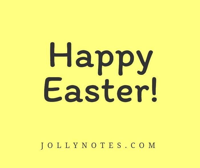 Happy Easter! He Is Risen!
